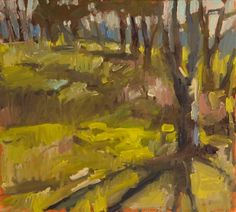 """Early Spring Light, 2012, oil on canvas, 20 x 22"""" Isabelle Abbot"""