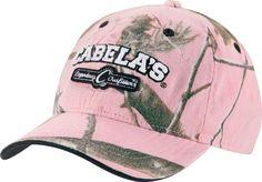 Cabela's Women's Realtree APC™ (Pink) Logo Cap  $16.99