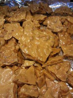 10 Minute Microwave Peanut Brittle Recipe | Just A Pinch Recipes