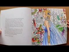 Throne of Glass Colouring Book by Sarah J Maas Flipthrough - YouTube