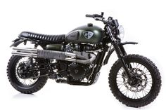 Triumph Scrambler - British Custom 'Dirt Bike' build