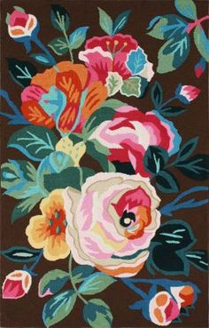 Acantha Floral  -------------7.5X9.5 FOR 552$$$$