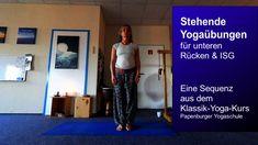 Yoga Momente: Der winkende Baum - für unteren Rücken / ISG Videos, Parachute Pants, Youtube, Lower Backs, Art Of Living, Pelvic Floor, Trees, Video Clip