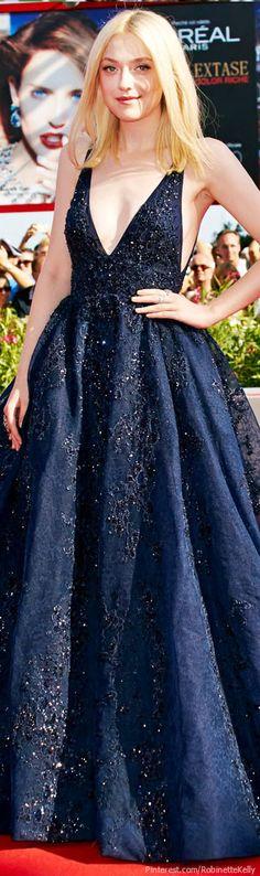 Dakota Fanning | Elie Saab - this dress is just magical