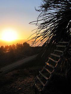 Sunset at Treebones Resort