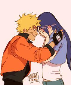 Naruto and Hinata by http://johannathemad.tumblr.com/