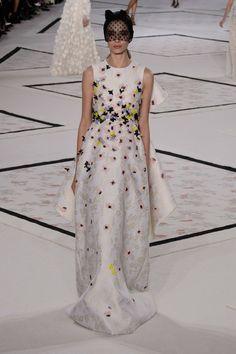 Giambattista Valli at Couture Spring 2015.