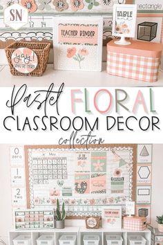 Preschool Classroom Decor, Modern Classroom, Classroom Layout, Classroom Decor Themes, Classroom Tools, Classroom Design, Future Classroom, Classroom Organization, Classroom Labels