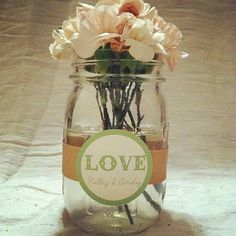 Country Wedding Centerpieces -