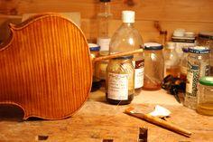 Should a Desire for Color Change Warrant Refinishing a Fine Violin? #varnish #violin #cello