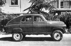 """The first """"SUV"""": GAZ-M-72.  The GAZ-M-20 prototype (2wd 5 seat passenger car) was first built in 1944 by GAZ in the Soviet Union and production didn't begin until 1946.  The GAZ-M-20 was also known as """"Pobeda"""" which meant victory.  Starting in 1955 they combined the chassis of a  GAZ-69 and the body of the GAZ-M-20 to build the 4wd GAZ-M-72.  Production of this vehicle was from 1955 – 1958 and a total of 4667 units were produced."""