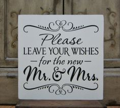 Wedding Sign Painted Wooden Shabby Chic Wedding by kimgilbert3, $25.00