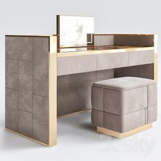3d models: Table + Chair - Smania dressing table