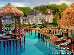 Diamond of Isla Paradiso Resort by ayyuff - Sims 3 Downloads CC Caboodle