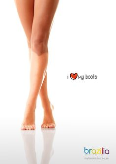 Brazilia Shoes: I Love My Boots, 2  Advertising Agency: Creative Factor, Durban, South Africa