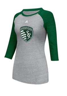 Sporting Kansas City Womens Gray St. Patricks Day LS Tee $33 http://www.rallyhouse.com/Sporting-Kansas-City-Womens-Gray-St-Patricks-Day-LS-Tee-14857769