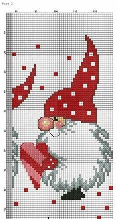 Cross Stitch Christmas Ornaments, Xmas Cross Stitch, Cross Stitch Needles, Cross Stitch Borders, Christmas Cross, Cross Stitch Charts, Cross Stitch Designs, Cross Stitching, Cross Stitch Embroidery