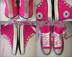 Women s Custom Bling Sneakers Converse by TaylorsPenny. sneakers  crystallized with hundreds of rhinestone crystals. 18ac75a319