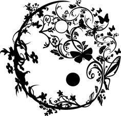 Cute yin yang