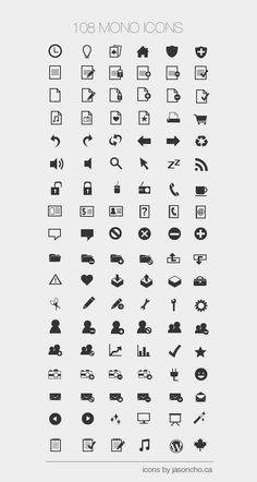32x32 minimal icons, add color overlay in photoshop to customize