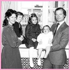 "583 gilla-markeringar, 6 kommentarer - Swedish royal family (@swedish_royal_family) på Instagram: ""Swedish royalfamily 1983"""