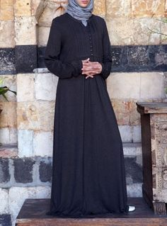 Carefree Jersey Abaya Dress Save 46% Burnt Brown color  Our bestselling Carefree Abaya is now available in our popular mixed jersey blend. This fabric is fluid and comfortable and retains its shape a lot better than most jersey fabrics.