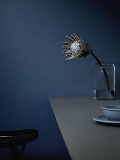 """Moodboard Blue Note"" by LEUCHTEND GRAU http://www.leuchtend-grau.de/ +++Foto: Amanda Rodriguez"