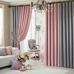 Two color curtains