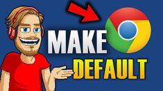 HOW TO MAKE CHROME YOUR DEFAULT BROWSER Chrome, Hacks, Technology, Make It Yourself, Videos, Tips, Youtube, How To Make, Tech