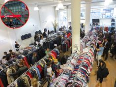 hit sample sales, not century 21--260 5th Avenue almost always has a sample sale