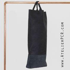 AtelierPCR StretchedBag Black leather www.atelierpcr.com ©P.C.R.