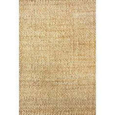Hailey Jute Natural 12 ft. x 15 ft. Area Rug ON01A-12015 at The Home Depot - Mobile