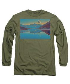 Nordic Landscape - Long Sleeve T-Shirt