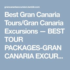 Do you want to enjoy a more intimate excursion tour experience in a comfortable and luxurious environment at substantially lower prices? Gran Canaria Excursions proudly own and operate Entertainment. Tours