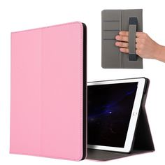 DOLMOBILE Luxury PU Leather Case Cover with Stand for iPad Pro 10.5 Tablet Hand Holder Grip Shell with Card Slots #Affiliate