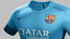 FC Barcelona will be donning electric blue when they open Champions League play on Wednesday in Rome. / FCB