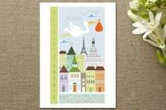 Babies are from Paris Baby Shower Invitations by Ana Sousa at minted.com