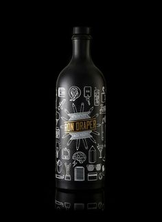 Ron Draper Advertising Rum on Packaging of the World - Creative Package Design Gallery