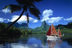 Die Südsee ist und bleibt eine Traumdestination. Tahiti ist die größte der insgesamt 118 Inseln Französisch-Polynesiens und einfach nur atemberaubend schön. #Südsee #Strandurlaub