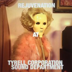 We at Tyrell Corp Sound keep all our Sound modules and electronic cosmetics well lubricated and kept up with the rejuvenation mask. 2 times a day for 30 minutes while we engineer a new replicant to represent our Sound Department announcement soon. #rejuvenation #longlasting #always #forever #eternal #engineer #cosmetic #tyrellcorporation #replicant #dallas #deepellum #manhattan #tech #house #techno #instrumental #lofi #lowereastside #lofibeats #lofihouse #aesthetic #representative #oakcliff…
