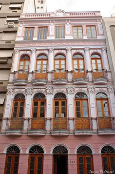 Arquitetura antiga - Porto Alegre, RS, Brasil