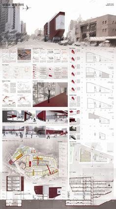 Pin by shamsudin azimi on lights Presentation Board Design, Architecture Presentation Board, Architectural Presentation, Project Presentation, Architectural Models, Architectural Drawings, Architectural Salvage, Architecture Panel, Architecture Design