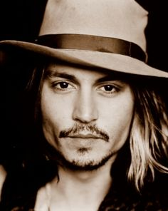 Johnny Depp - I just adore him as an actor. So diversified.