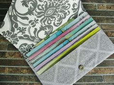 6 pocket Tract Wallet, Oversized Wallet, Long Tract Wallet, Made to Order on Etsy, $23.00