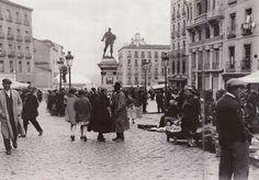Domingo en el Rastro, 1935