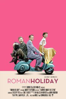 Roman Holiday, 1953, Gregory Peck, Audrey Hepburn, Eddie Albert.  One of my favorite movies.