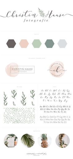 Christin Hasse Fotografie Trendy and chic branding for a modern fashion boutique… Inspiration Logo Design, Webdesign Inspiration, Design Ideas, Design Logo, Design Poster, Brand Design, Business Branding, Business Design, Logo Branding