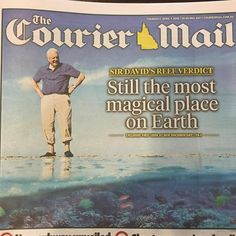 Sir David Attenborough says the reports of reef death greatly exaggerated. Lets protect the reef but let's celebrate it too for generations to come. It's a truly remarkable wonder. #whitsundays #thisisqueensland #lovewhitsundays #greatbarrierreef #queensland #helitaxi #eatstayplay #nextadventure #abellpointmarina #couriermail by helitaxiaustralia http://ift.tt/1UokkV2