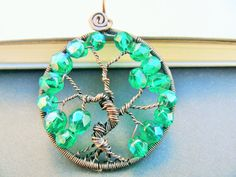 Summer Copper Tree of Life Pendant by adornjewels on Etsy Pin to view later Click to buy