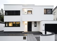 House entrance in black and white architecture – Holidays Architect House, House Entrance, House 2, Home Fashion, Modern House Design, Style At Home, Decoration, Future House, Architecture Design